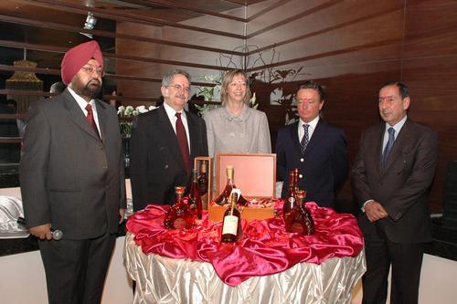 Prince Albert de Polignac in India